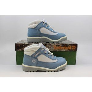 Pre-School Field Boot Blue/White 41704